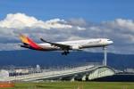 T.Sazenさんが、関西国際空港で撮影したアシアナ航空 A330-323Xの航空フォト(飛行機 写真・画像)