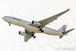 遠森一郎さんが、福岡空港で撮影したキャセイドラゴン A330-343Xの航空フォト(写真)