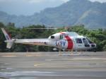 ランチパッドさんが、静岡ヘリポートで撮影した東邦航空 AS355Nの航空フォト(写真)