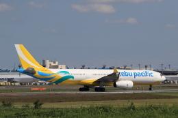 多楽さんが、成田国際空港で撮影したセブパシフィック航空 A330-343Eの航空フォト(写真)