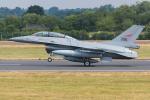 Tomo-Papaさんが、フェアフォード空軍基地で撮影したノルウェー空軍 F-16BM Fighting Falconの航空フォト(写真)