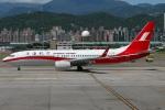 たみぃさんが、台北松山空港で撮影した上海航空 737-89Pの航空フォト(写真)