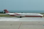 たみぃさんが、金門空港で撮影した遠東航空 MD-82 (DC-9-82)の航空フォト(写真)