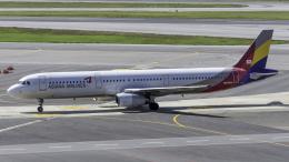 航空フォト:HL7703 アシアナ航空 A321