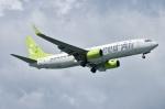 たっしーさんが、那覇空港で撮影したソラシド エア 737-86Nの航空フォト(写真)