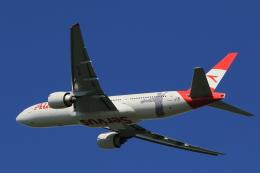 多楽さんが、成田国際空港で撮影したオーストリア航空 777-2Q8/ERの航空フォト(写真)