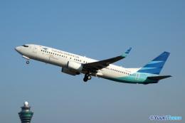 航空フォト:PK-GFE ガルーダ・インドネシア航空 737-800