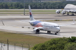 kinsanさんが、クアラルンプール国際空港で撮影したマレーシア航空 737-8H6の航空フォト(写真)