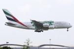 kinsanさんが、スワンナプーム国際空港で撮影したエミレーツ航空 A380-861の航空フォト(写真)