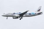 kinsanさんが、スワンナプーム国際空港で撮影したバンコクエアウェイズ A320-232の航空フォト(写真)