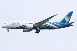 kinsanさんが、スワンナプーム国際空港で撮影したオマーン航空 787-8 Dreamlinerの航空フォト(飛行機 写真・画像)