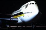 鯉ッチさんが、伊丹空港で撮影したシンガポール航空 747-212Bの航空フォト(写真)