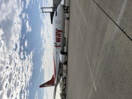 nontan8さんが、大分空港で撮影したティーウェイ航空 737-8Q8の航空フォト(飛行機 写真・画像)