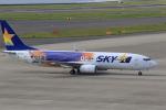 canon_leopardさんが、中部国際空港で撮影したスカイマーク 737-81Dの航空フォト(写真)