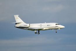 tsubasa0624さんが、羽田空港で撮影したグローバル・ジェット・チャーターズ Falcon 2000EXの航空フォト(飛行機 写真・画像)