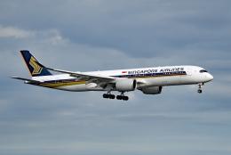 tsubasa0624さんが、羽田空港で撮影したシンガポール航空 A350-941XWBの航空フォト(写真)