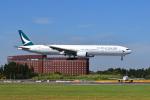 ポン太さんが、成田国際空港で撮影したキャセイパシフィック航空 777-367の航空フォト(写真)