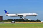 ポン太さんが、成田国際空港で撮影したユナイテッド航空 777-322/ERの航空フォト(写真)