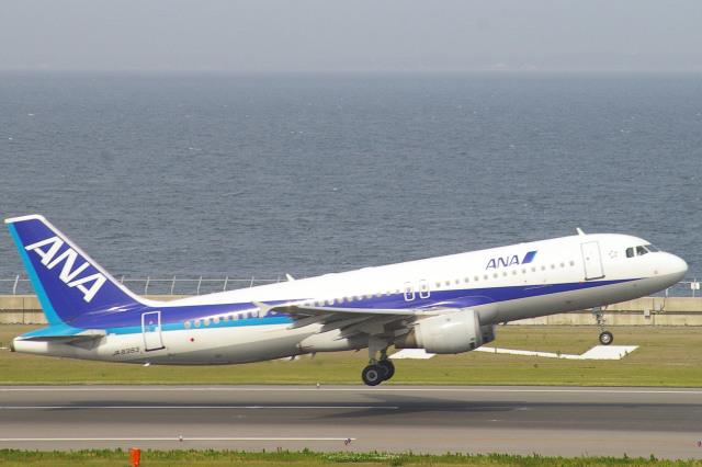 apphgさんが、中部国際空港で撮影した全日空 A320-211の航空フォト(飛行機 写真・画像)