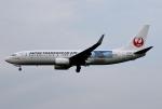 MOHICANさんが、福岡空港で撮影した日本トランスオーシャン航空 737-8Q3の航空フォト(写真)