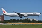 shimashimaさんが、成田国際空港で撮影した中国国際航空 777-39L/ERの航空フォト(写真)