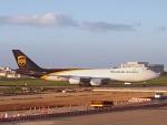 mikizouさんが、台湾桃園国際空港で撮影したUPS航空 747-8Fの航空フォト(写真)