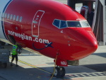 cornicheさんが、オスロ国際空港で撮影したノルウェー・エアシャトル 737-8JPの航空フォト(写真)