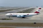 Gambardierさんが、関西国際空港で撮影したオーストリア航空 A340-212の航空フォト(写真)