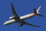 多楽さんが、成田国際空港で撮影したアメリカン航空 777-323/ERの航空フォト(写真)