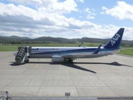 ヒロリンさんが、紋別空港で撮影した全日空 737-881の航空フォト(飛行機 写真・画像)