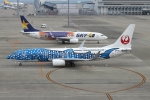 KAKOさんが、中部国際空港で撮影した日本トランスオーシャン航空 737-8Q3の航空フォト(写真)