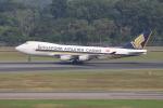 sumihan_2010さんが、シンガポール・チャンギ国際空港で撮影したシンガポール航空カーゴ 747-412F/SCDの航空フォト(写真)