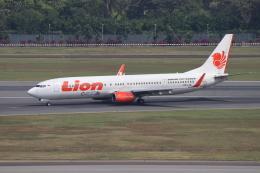 sumihan_2010さんが、シンガポール・チャンギ国際空港で撮影したライオン・エア 737-9GP/ERの航空フォト(飛行機 写真・画像)