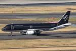 セブンさんが、羽田空港で撮影したスターフライヤー A320-214の航空フォト(写真)