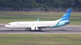 航空フォト:PK-GFK ガルーダ・インドネシア航空 737-800