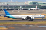 セブンさんが、羽田空港で撮影したガルーダ・インドネシア航空 777-3U3/ERの航空フォト(飛行機 写真・画像)