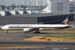 セブンさんが、羽田空港で撮影したシンガポール航空 777-312/ERの航空フォト(飛行機 写真・画像)