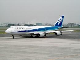 Zakiyamaさんが、伊丹空港で撮影した全日空 747SR-81の航空フォト(飛行機 写真・画像)