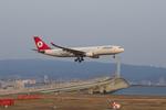T.Sazenさんが、関西国際空港で撮影したターキッシュ・エアラインズ A330-203の航空フォト(飛行機 写真・画像)