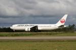 もぐ3さんが、小松空港で撮影した日本航空 767-346/ERの航空フォト(飛行機 写真・画像)