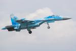 Tomo-Papaさんが、フェアフォード空軍基地で撮影したウクライナ空軍 Su-27Pの航空フォト(写真)