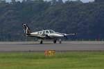トールさんが、静岡空港で撮影した日本個人所有 58 Baronの航空フォト(写真)