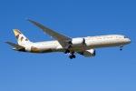 soranchuさんが、北京首都国際空港で撮影したエティハド航空 787-9の航空フォト(写真)