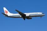 soranchuさんが、北京首都国際空港で撮影した中国国際航空公司内蒙古分公司 737-89Lの航空フォト(写真)