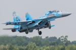 Tomo-Papaさんが、フェアフォード空軍基地で撮影したウクライナ空軍 Su-27UBの航空フォト(写真)