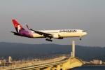 T.Sazenさんが、関西国際空港で撮影したハワイアン航空 767-33A/ERの航空フォト(飛行機 写真・画像)