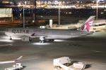 NIKEさんが、羽田空港で撮影したカタール航空 A350-941XWBの航空フォト(写真)