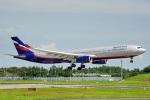 ちゃぽんさんが、成田国際空港で撮影したアエロフロート・ロシア航空 A330-343Xの航空フォト(写真)