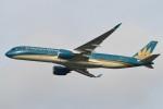 camelliaさんが、成田国際空港で撮影したベトナム航空 A350-941XWBの航空フォト(写真)