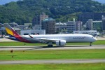 kamerajiijiさんが、福岡空港で撮影したアシアナ航空 A350-941XWBの航空フォト(写真)